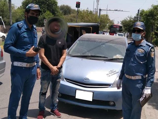 ون وے ٹریفک کی خلاف ورزی پر کوئی بھی وائیلٹرز رعائت کا مستحق نہیں ہوگا، سی ٹی او لاہور