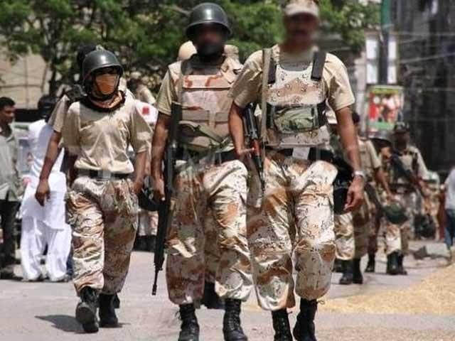 Rehabilitation of Rangers officer extorted from pub in Karachi suspended