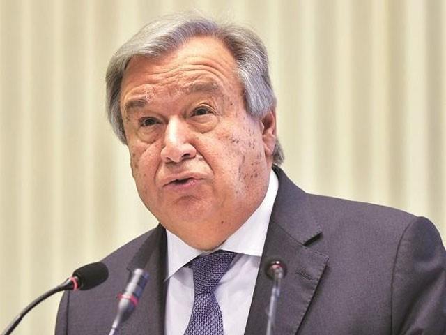 انتونیو گوتریس کو آئندہ پانچ سال کیلیے جنرل سیکرٹری منتخب کیا گیا، فوٹو: فائل