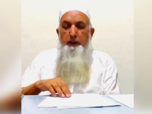 مجرم کو سزا کیلیے ہرممکن تعاون کریں گے، ترجمان جے یو آئی، کسی فرد کے فعل کو مسجد و مدرسے سے نہ جوڑا جائے، طاہر اشرفی (فوٹو : فائل)