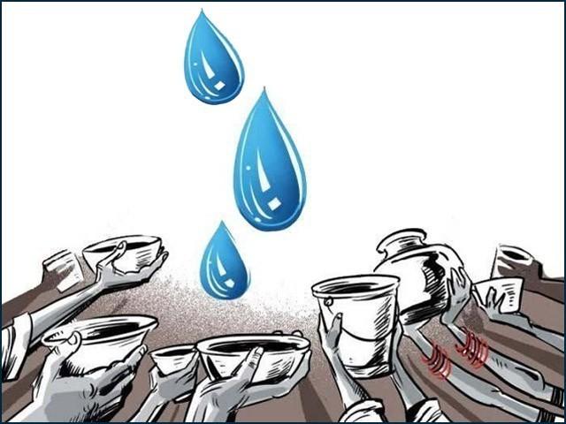 پانی بچائیں گے تو ہریالی بچے گی، انسان بچے گا، زندگی بچے گی۔ (فوٹو: فائل)