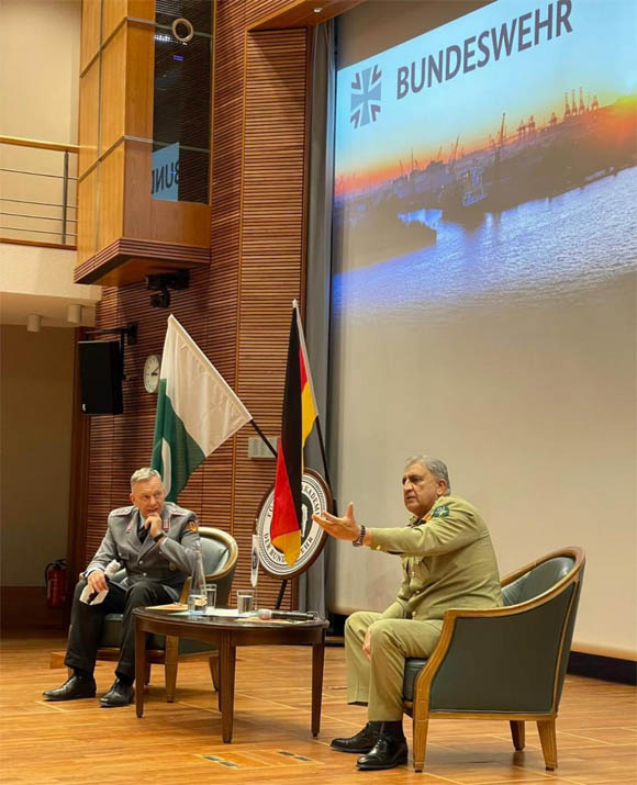 army chief bajwa in Germany 2