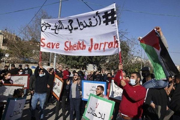 Israel expulsion palestine from sheikh jarrah 3