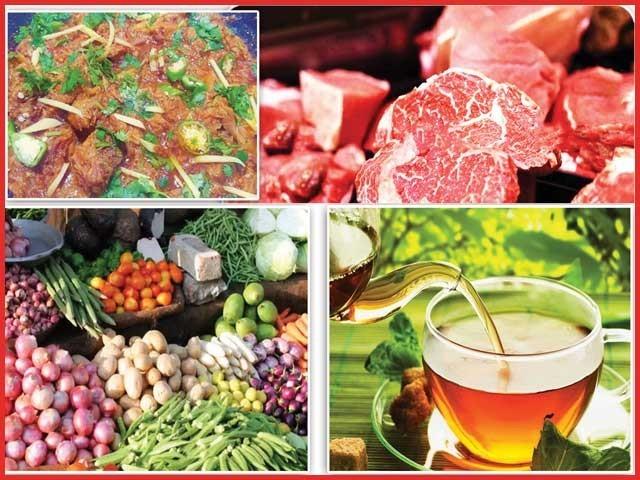 گوشت میں سبزیاں ملا کر پکایا اور کھایا جائے تو اس کے مضر اثرات کافی حد تک بے اثر ہوجاتے ہیں ۔  فوٹو : فائل