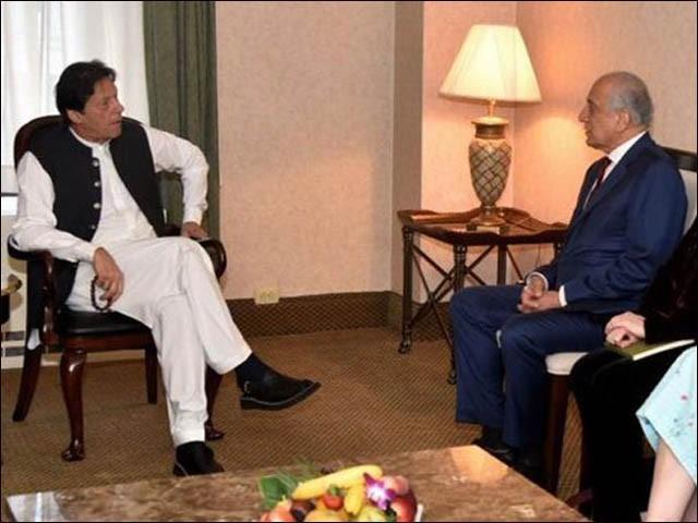 افغانستان میں تنازعات اور عدم استحکام میں اضافہ پاکستان کے مفاد میں نہیں، وزیر اعظم (فوٹو : فائل)