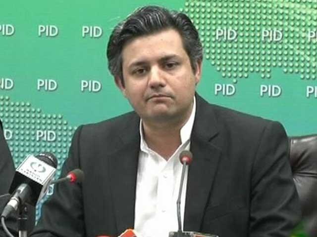 پاکستان کو بدترین معاشی حالات سے دوچار کرنے والے خود ملک سے باہر ہیں، حماد اظہر۔(فوٹو:فائل)