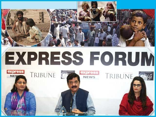 حکومت اور سول سوسائٹی کے نمائندوں کا ''آبادی کے عالمی دن'' کے موقع پر منعقدہ ''ایکسپریس فورم'' میں اظہار خیال