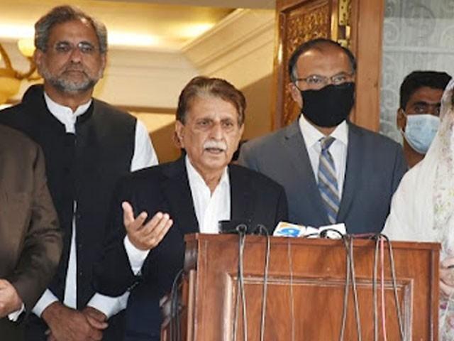 جمعہ کو اسلام آباد میں اکٹھے ہوں گے اور دنیا کو بتائیں گے کہ کیسے ہمارے حقوق پر ڈاکہ مارا گیا، راجہ فاروق حیدر