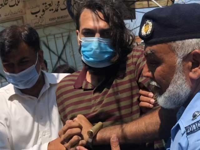 عدالت نے گرفتارظاہر جعفر کے والدین اور2 ملازمین کو جیل بھیج دیا ۔ فوٹو : فائل