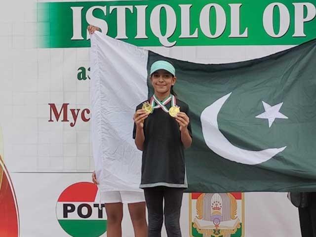 ہانیہ پہلی پاکستانی ہیں جو ایشین ٹائٹل اپنے نام کرنے میں سرخرو ہوئی ہیں (سوشل میڈیا)