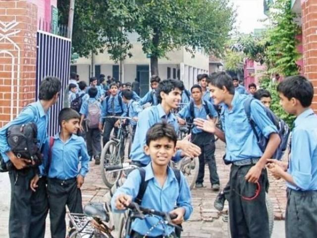 محکمہ تعلیم پنجاب نے ضلعی افسران کو ہدایات نامہ جاری کر دیا فوٹو: فائل