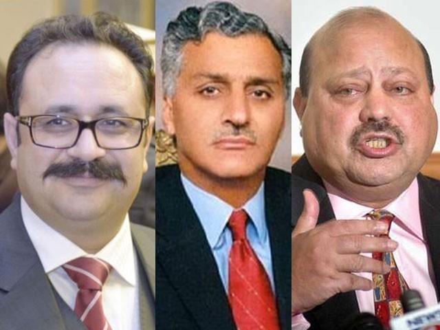 وزیراعظم عمران خان سے بیرسٹر سلطان ، خواجہ فاروق، تنویر الیاس اور اظہر صادق کی علیحدہ علیحدہ ملاقات