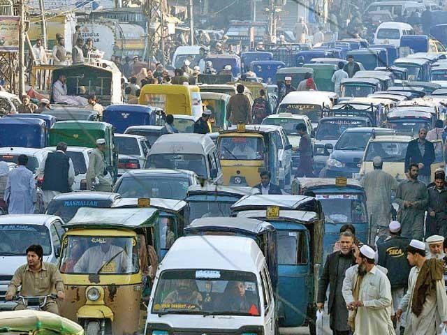 پشاور کو اے سے ایف تک چھ زونز میں تقسیم کرنے کی تیاری کی گئی ہے فوٹو: فائل