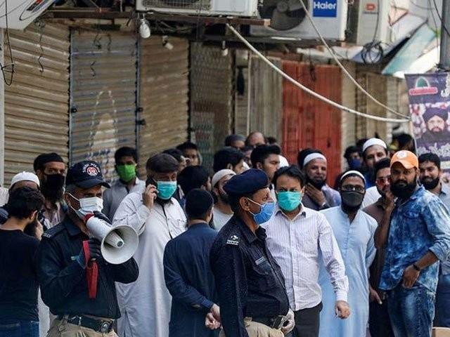 کراچی تاجر ایکشن کمیٹی نے لاک ڈاؤن پر سوال اٹھادیا۔