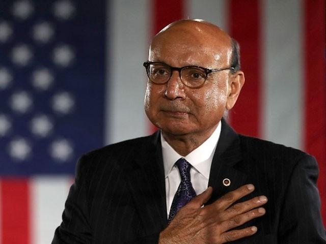 خضر احمد کے بیٹے امریکی فوج کیپٹن تھے اور عراق میں مارے گئے تھے، فوٹو: ٹوئٹر