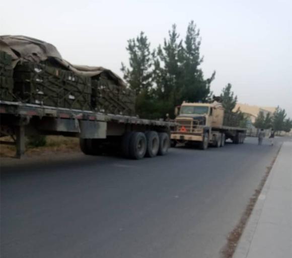 india give ammunition to Afghan Govt 2