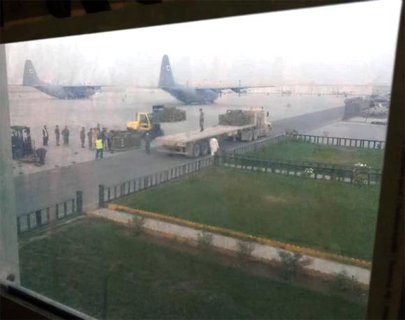 india give ammunition to Afghan Govt 3
