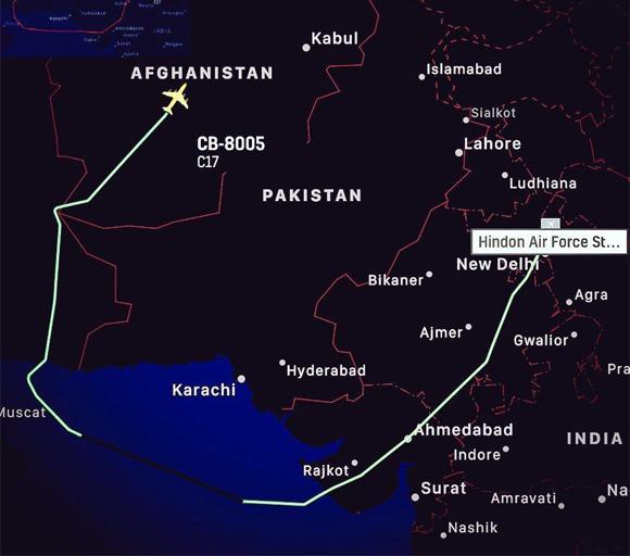 india give ammunition to Afghan Govt 4