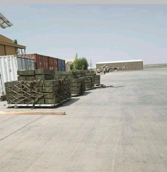 india give ammunition to Afghan Govt 6