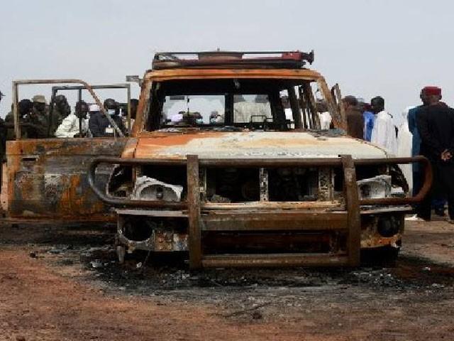 حملے میں 7 اہلکار زخمی اور 6 لاپتہ ہوگئے، فوٹو: فائل