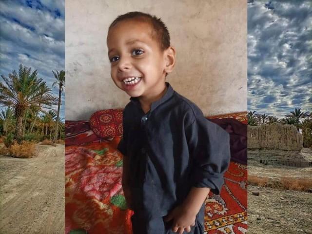بلوچستان کے شہر پنجگور میں چار سالہ بچے قدیر خلیل کو اغوا کے بعد قتل کردیا گیا ہے۔ فوٹو: سوشل میڈیا