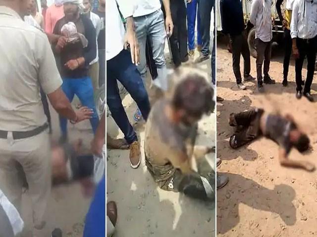 مسلمان پر بدترین تشددکا یہ واقہ انتہا پسند ہندوؤں کے دفتر بجرنگ دل کے قریب پیش آیا۔(فوٹو:فائل)