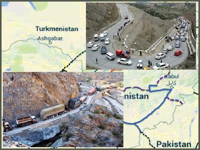 وسط ایشیائی ریاستوں تک رسائی دینے اور تجارت سے افغانستان خوشحالی کے نئے دور میں داخل ہو سکتا ہے۔ فوٹو : فائل