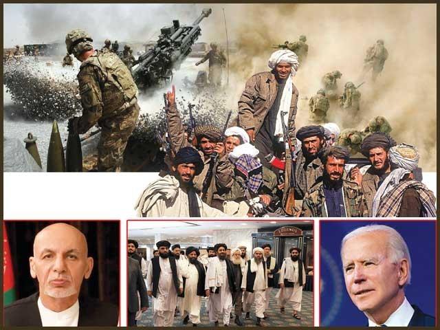 امریکی قبضے سے لے کر طالبان کی شاندار فتح تک پیش آنے والے واقعات کی تفصیل ۔  فوٹو : فائل