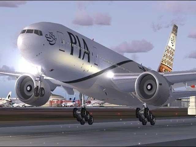 آزمائشی طور پر جہاز کو کامیاب لینڈنگ کرائی گئی فوٹو:فائل