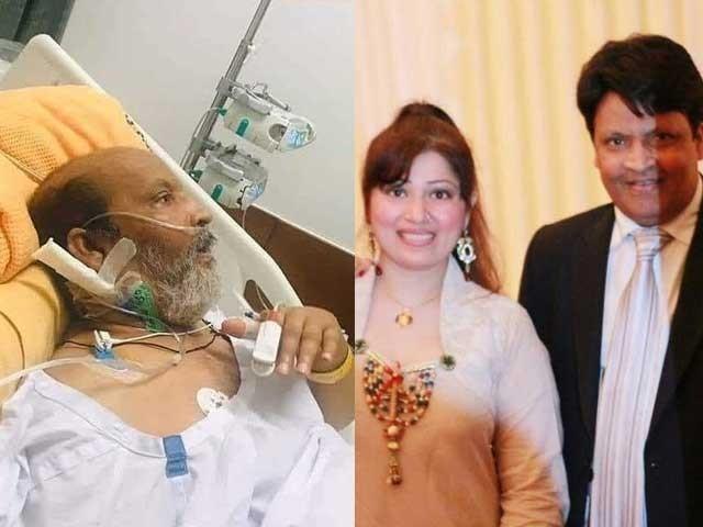 لوگوں کو اسپتال سے نجی تصاویر شیئر کرتے دیکھنا بہت افسوسناک ہے، اہلیہ زرین غزل فوٹوسوشل میڈیا
