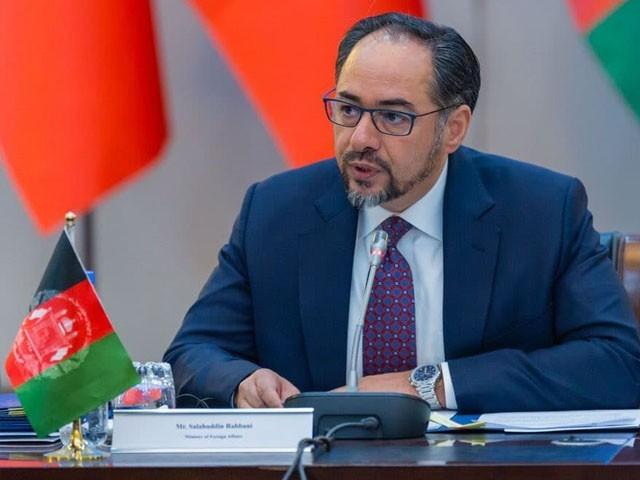 صلاح الدین ربانی سابق افغان صدر اور کمانڈر برہان الدین ربانی کے بیٹے ہیں، فوتو: فائل