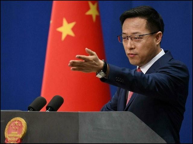 چین پر معترض ممالک کو اپنے ہاں انسانی حقوق کے تحفظ کےلیے عملی اقدامات کرنے چاہئیں، ترجمان چینی وزارت خارجہ چاو لی جیان۔ (فوٹو: چائنا میڈیا)