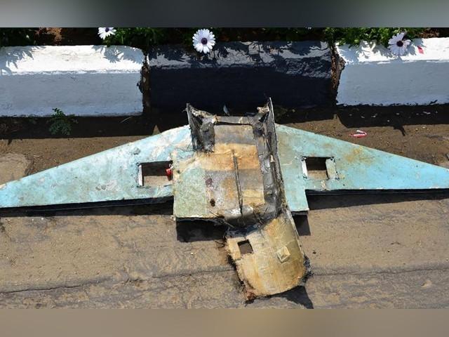 ڈرون کو فضا میں ہی تباہ کردیا گیا جب کہ حملے میں کوئی جانی نقصان نہیں ہوا، عرب اتحادی افواج