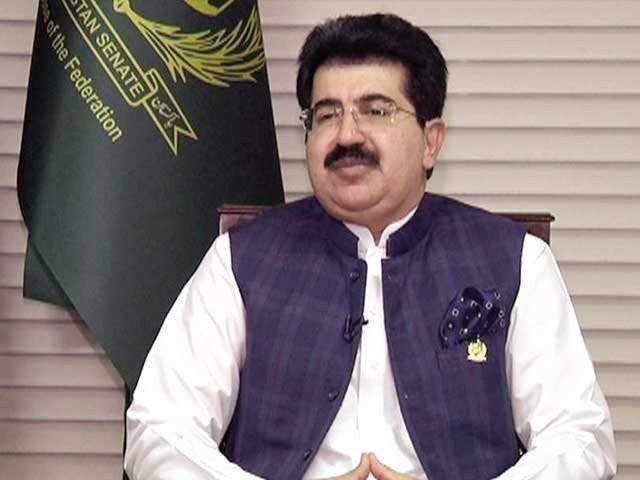 چیئرمین سینیٹ تحریک عدم اعتماد پر وزیراعلی بلوچستان جام کمال اور پارٹی رہنماؤں کے ساتھ مشاورت کریں گے، ذرائع۔(فوٹو: فائل)