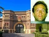 تصویر میں جیل نمایاں ہے جہاں سے ڈارکو فرار ہوا تھا جب کہ دائیں جانب چھوٹی تصویر میں ڈارکو اپنےفرار کے وقت نمایاں ہیں۔ فوٹو: بی بی سی