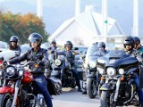 9 امریکی خواتین سیاحوں نے موٹر سائیکل پر خیبر پختونخوا اور گلگت بلتستان کا روڈ ٹرپ مکمل کرلیا