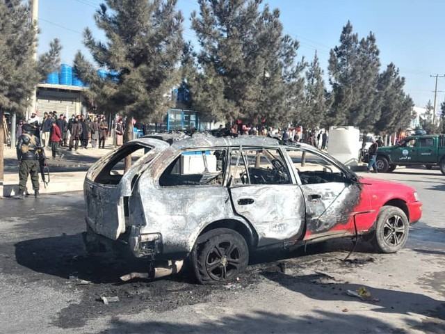 بم دھماکے کی ذمہ داری ابھی تک کسی بھی گروپ کی جانب سے قبول نہیں کی گئی ہے۔ فوٹو : فائل