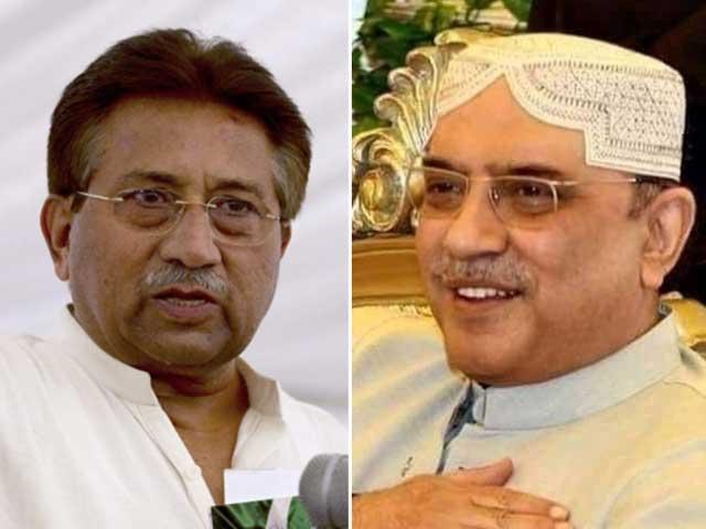 آصف زرداری اور پرویز مشرف سے متعلق مقدمات کی سماعت کرنے والا بینچ تحلیل thumbnail