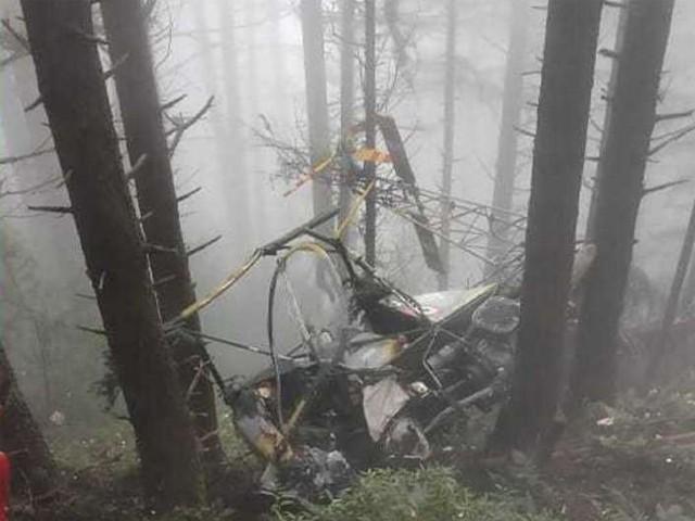 بھارتی فوج کی جانب سے حادثے کی وجوہات نہیں بتائی گئیں