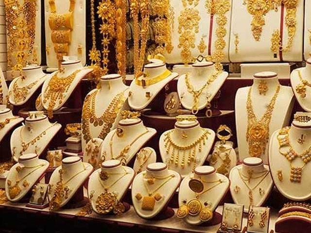 فی تولہ سونے کی قیمت بڑھ کر 113000 روپے ہوگئی