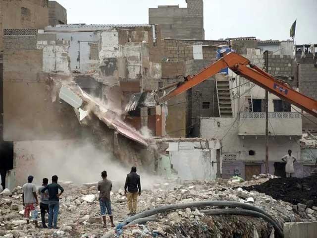 کراچی میں ایک انچ کا بھی کام نہیں ہوا ، چیف جسٹس  فوٹو: فائل