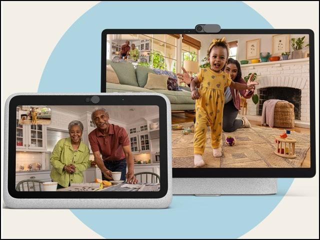 یہ نیا اسمارٹ ڈسپلے 'پورٹل گو' اور 'پورٹل پلس' کے نام سے پیش کیا گیا ہے۔ (فوٹو: فیس بُک/ پورٹل گو پیج)
