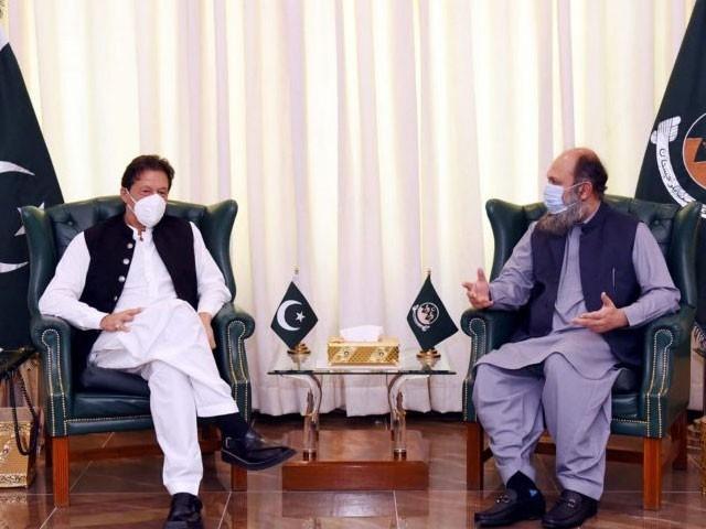 ملاقات میں بلوچستان ترقیاتی پیکیج کے تحت جاری منصوبوں میں پیش رفت پر گفتگو