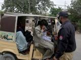 یہ سندھ حکومت اور پولیس کا ظالمانہ اور غیر اخلاقی اقدام ہے، واپس لیا جائے، شہری ۔ فوٹو : فائل