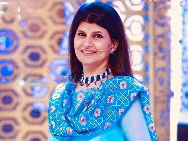 خبر دینا ایک بہت ذمہ داری کا کام ہے ، روبینہ اشرف فوٹوسوشل میڈیا