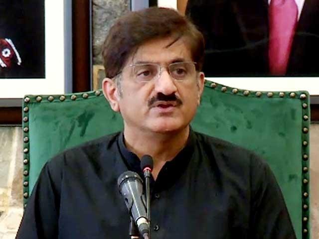 مراد علی شاہ نے الیکشن میں دہری شہریت چھپائی تھی، درخواست گزار کا موقف فوٹو: فائل