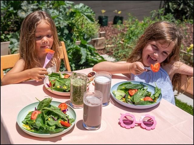 دن میں پھلوں اور سبزیوں کا جتنا زیادہ استعمال کرنے والے بچوں کی ذہنی صلاحیتیں سب سے بہتر تھیں۔ (فوٹو: انٹرنیٹ)