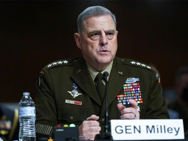 افغان جنگ کا اختتام اس طرح نہیں ہوا جیسے امریکا چاہتا تھا، جنرل مارک ملی۔ فوٹو : فائل