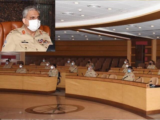 بھارت مقبوضہ کشمیر میں انسانی حقوق کی خلاف ورزیوں کے باعث داخلی تضادات کا شکار ہے، جنرل قمر جاوید باجوہ۔(فوٹو: فائل)