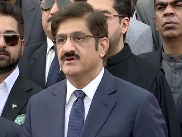 عمران خان نے عوام کو مہنگائی سے تکلیف دی ہے ، مراد علی شاہ فوٹو: فائل